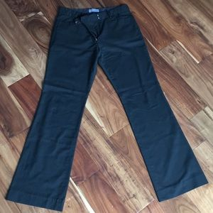 Gap Modern Bootcut Pants Dark Green